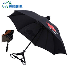 new 2018 inventions promotional straight seat cheap umbrellas with seat belt