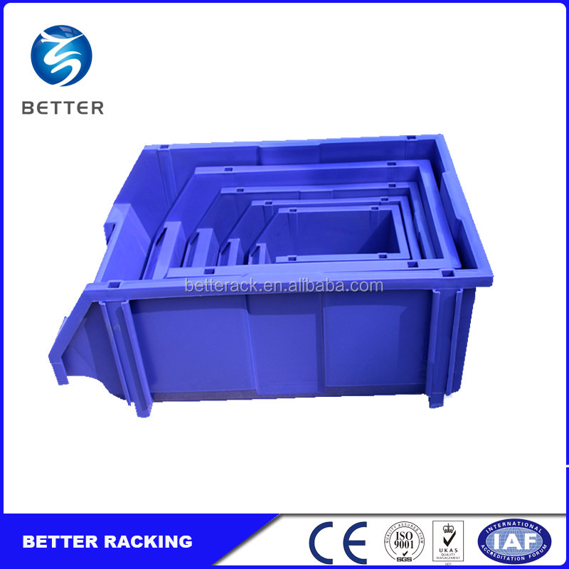 Parts Shop Garage Utility, Vertical Palstic Stackable Storage Bin, Cheap Plastic Storage Bins Wholesale