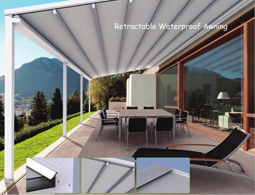 Retractable Canopies Product : Outdoor waterproof rainproof retractable awnings buy