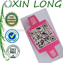 2013 newest qr silicone bracelet for promotional gift