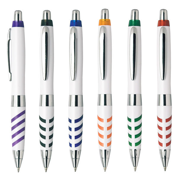 Factory free pen sample white personalised pens