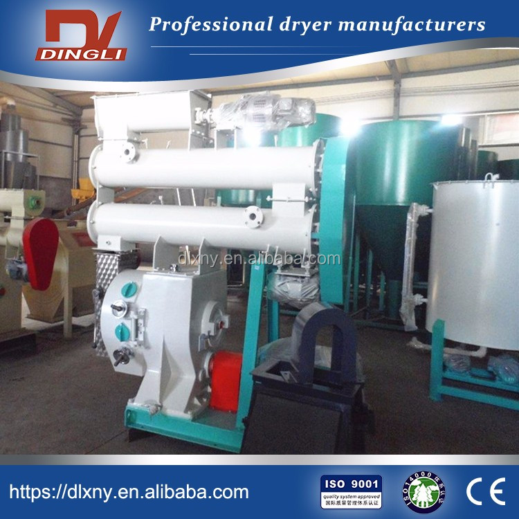 0.7t/h Agro Based Industries Small Agro Waste Straw Pellet Mill for Biomass New Energy Industry