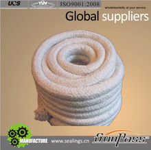 Reinforced Twisted Rope Insulation Ceramic Fiber Rope