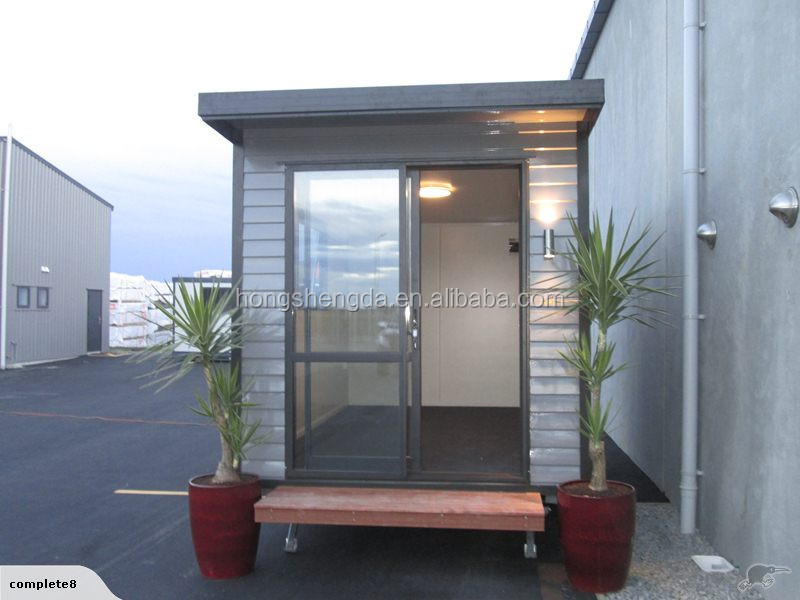 prefab sandwich panel mobile portable folding office cabin