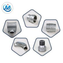 BS Standard Galvanized Malleable Iron Heating Oil Piping Fittings