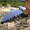 OUSIKAI SUS304 compact pressurized solar water heater panel,