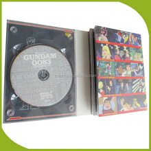 Customized DVD cardboard digipak case for holding 5 discs