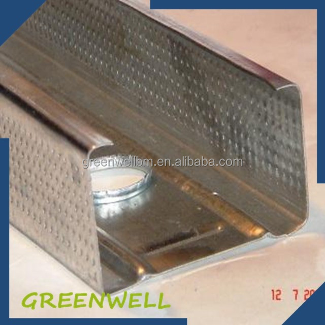 Industrial building material hot dipped galvanized steel gutter