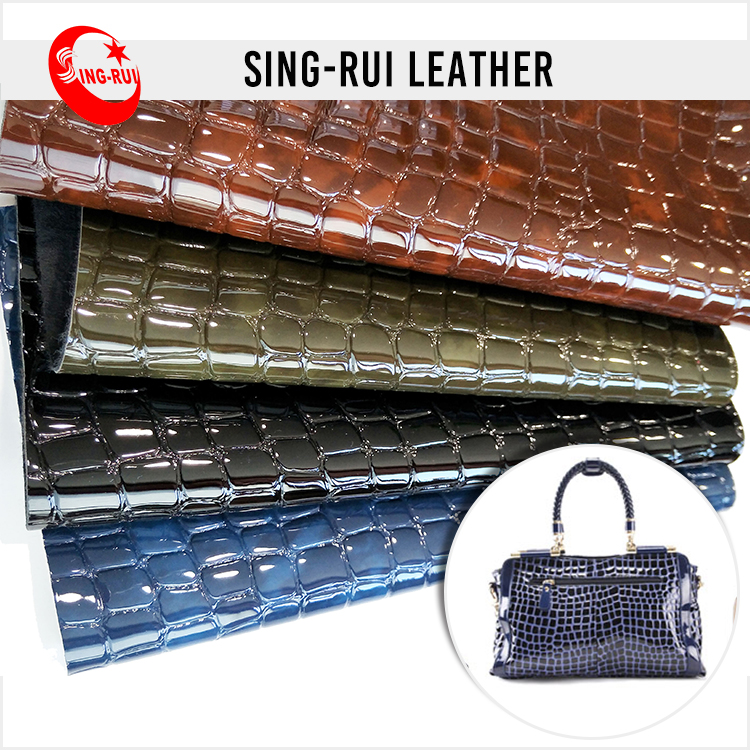 High Quality Top Grade Embossed Leather