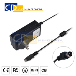 12v ac adapter 12v 3A, 36W ac dc power supply adapter