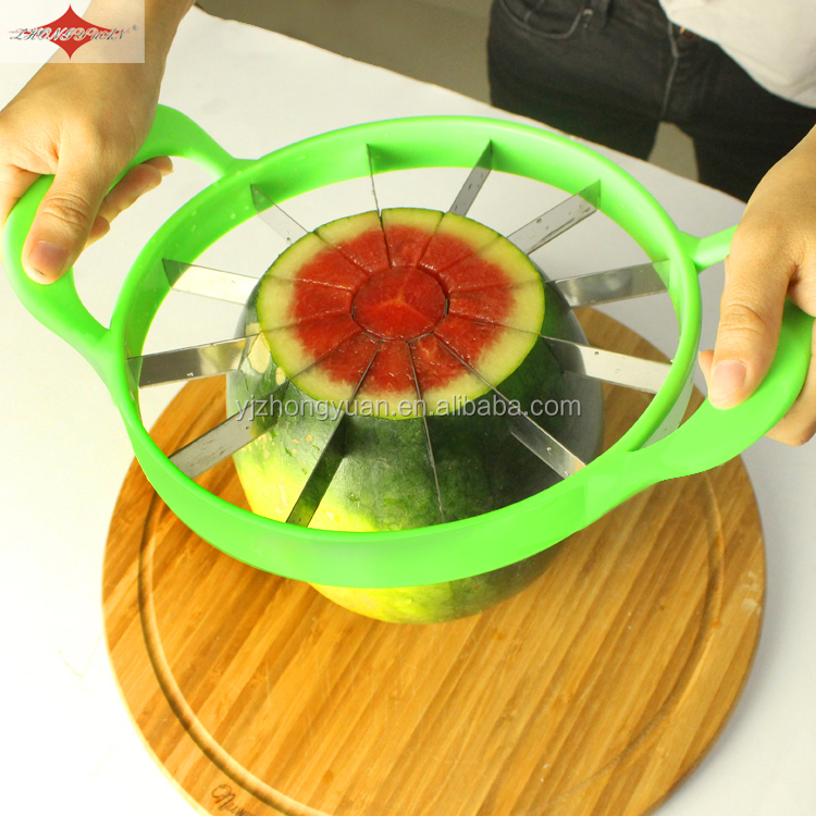 ZY-F1482 fruit kitchen tools with pp handle watermelon or manual spiral potato separator cutter slicer