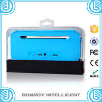 2015 high quality water cube led light bluetooth speaker
