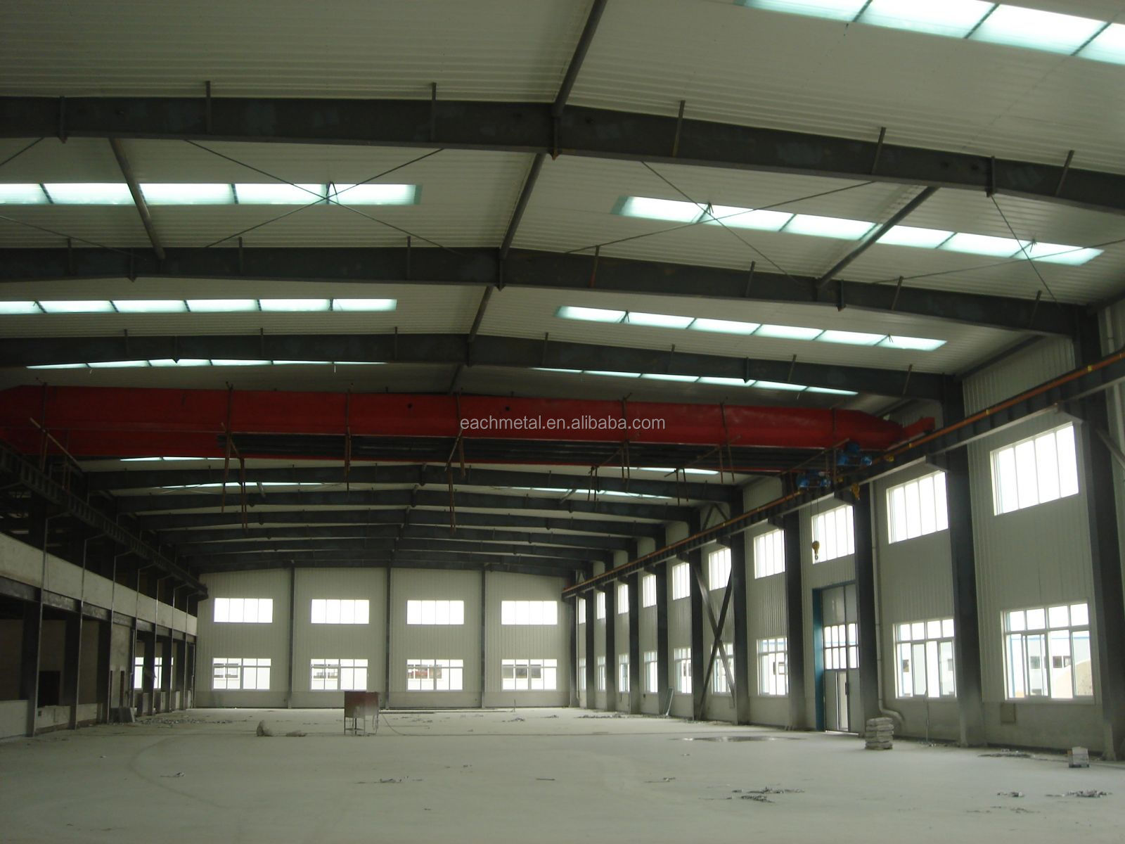 structural steel shed