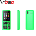 Cheap Dual SIM Feature Bar Phone 1.77Inch Low End Mobile Phone with Whatsapp Facebook 130