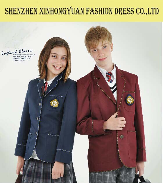 2015 Modern Japanese School Uniform Blazer Middle School