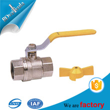 Lever handle forged CW617N brass ball valve 600 wog water