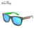 cheap wholesale custom matte natural bamboo sunglasses with polarized lens