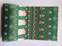 Printed Christmas Design Non Woven for Flower Wrapping, Felt Fabric Rolls ,Non Woven Roll