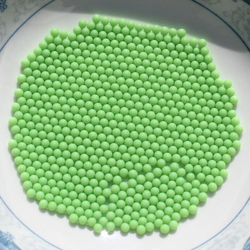 Single Or Mixed Color Microbeads No Hole Bead For Peashooter