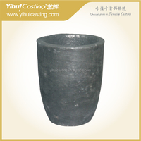 100KG Capacity-Clay graphite crucible for gold silver cooper aluminum melting