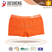customerized design logo seamless boys brifes boys boxers seamless underwear children photo free samples man boxers from factory