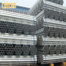 Chinese export steel galvanized pipe structure pipe for building materials