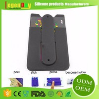 Factory Direct Supply customizable Silicone wall mount phone stand