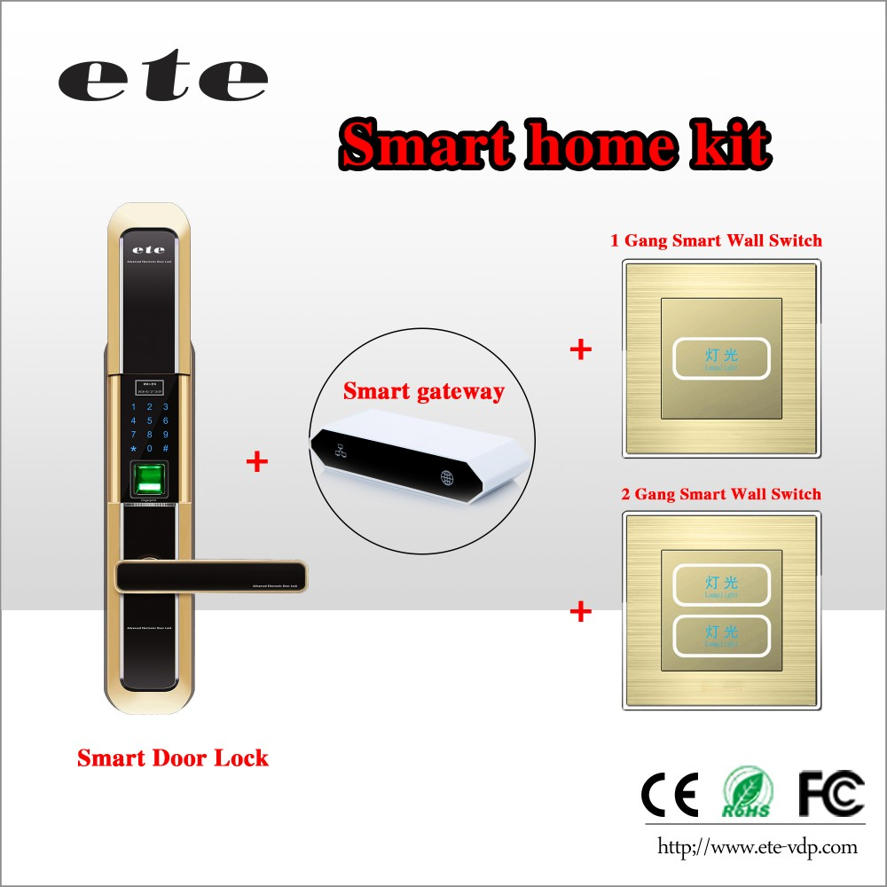 Digital intelligent fingerprint electric door lock fingerprint door lock app for office ,home