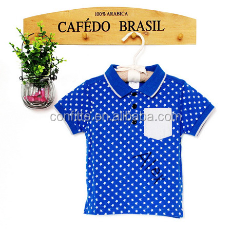 baby bleu babywear shirt star boy newborn baby clothes