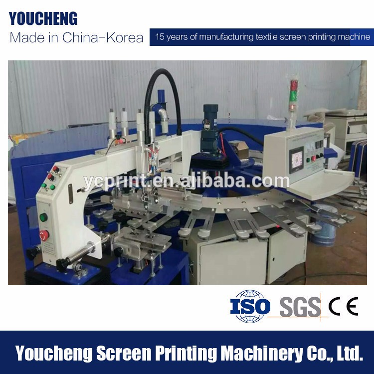 Single color t-shirt screen printing machine sock/glove screen printing machine in China