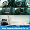 Dirt resistant coating of nano water repellent spray for automobiles