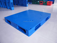 warehouse double stacking plastic pallets 120x140 cm