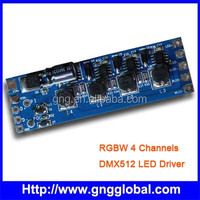 PWM RGBW 4channel led dmx decoder