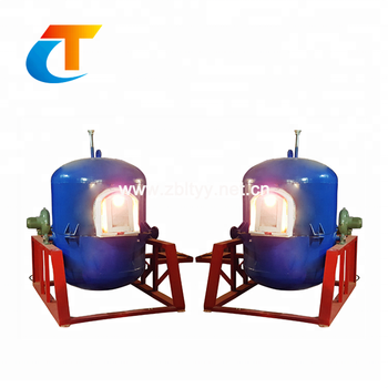 Single Crucible Furnace For Melting Glass