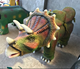 Animatronic walking dinosaur amusement rides for sale