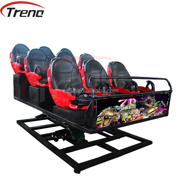 Exhibition 5D 7D cinema equipment 7d Theater Rider in amusement park games