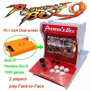2 players video pandora box game 1500 in 1 arcade games machines fighting game