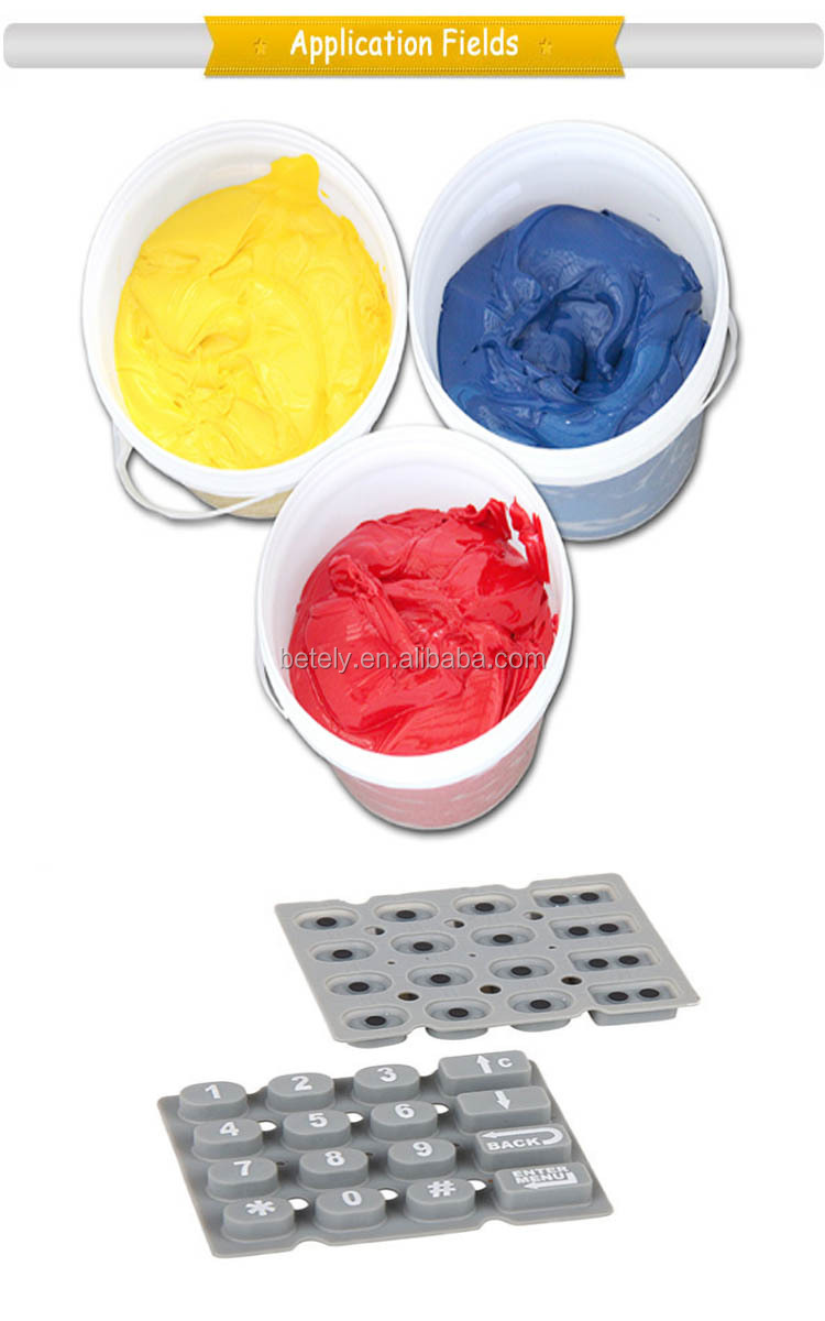 Nice Friction Resistance Silicone Printing Ink With Best Price And High Quality