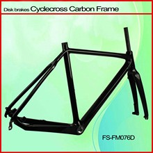 2014 new design and hot selling full carbon fiber road bicycle frame cycle cross w/Di2 Falcon FM076D