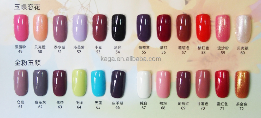Kaga nail gel polish gel nail polish china