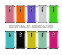 New PC TPU combo case for LG G2 d802 case
