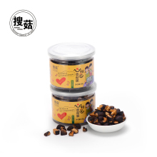 Low fat vacuum fried VF dried mushroom <strong>chips</strong> made in China