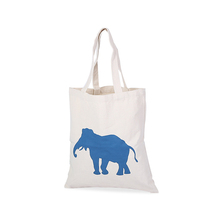 Heavy duty cotton canvas shopping tote bag for bags