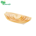 High quality disposable party wood pine wooden boat