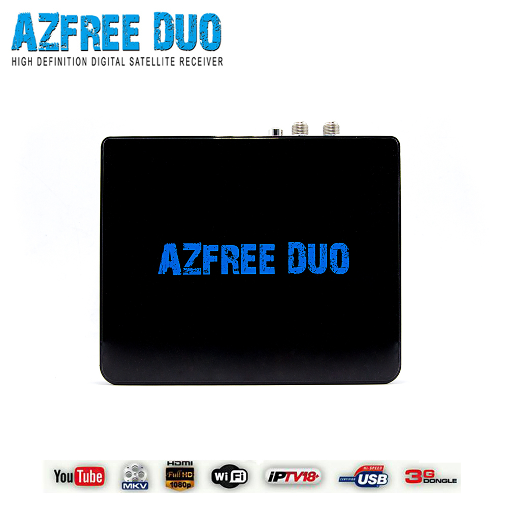 South America satellite receiver azfree duo with iks sks free and support iptv 3G full hd