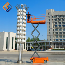 Removable scissor lift practical small platform powered portable