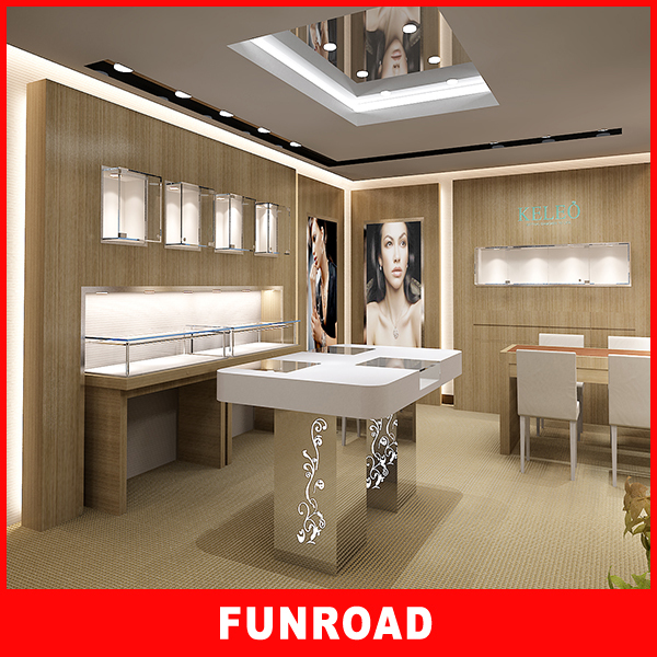 Superior Quality jewelry shop interior designjewellery shop