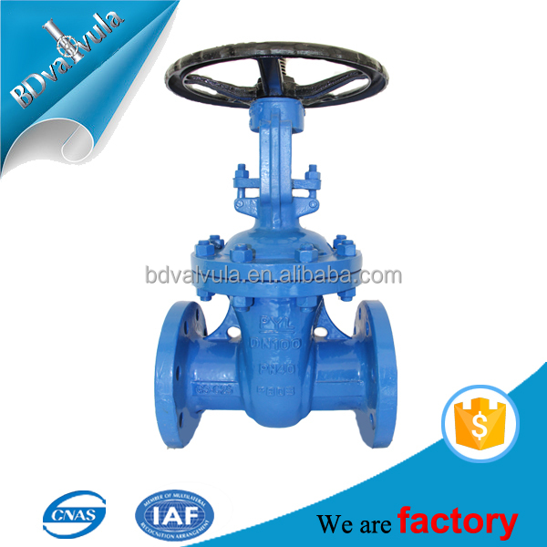 Soft-sealing Non-rising Stem Low Pressure Gate Valve