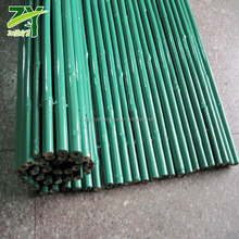 NEW!! ZY-2008 OEM Factory Made Coloured PVC Coat Bamboo Fence Plastic Coat Bamboo Fencing PVC Bamboo Rolled Screens !