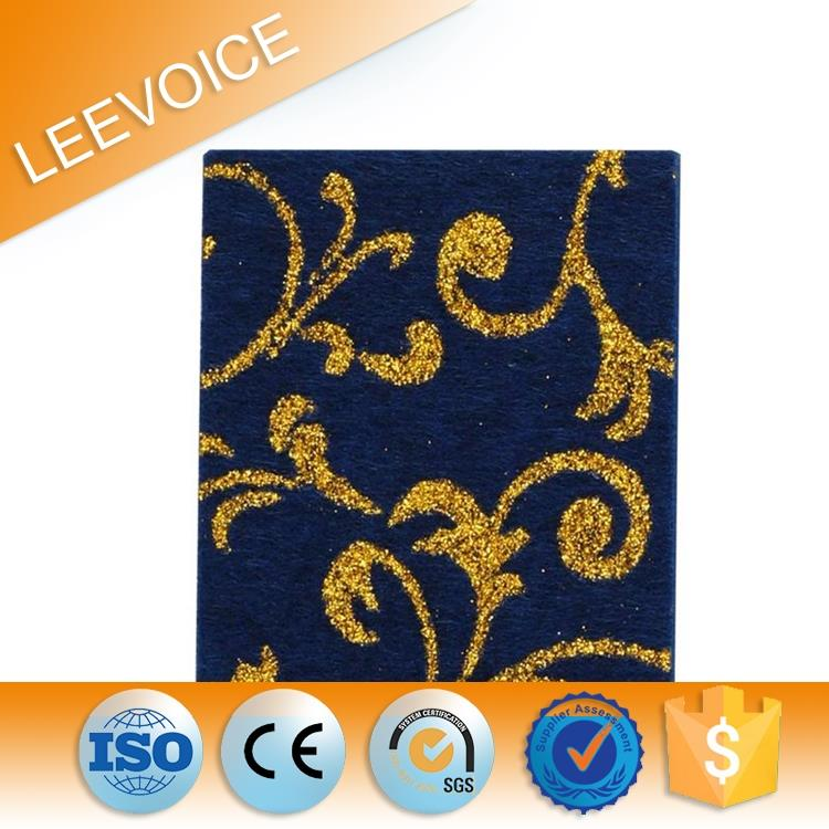 Polyester Mineral Fiber Acoustic Panel Ceiling Tiles
